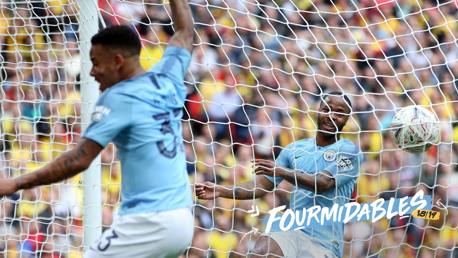 FOURMIDABLES: Manchester City have won all four major domestic titles in the same season for the first ever time