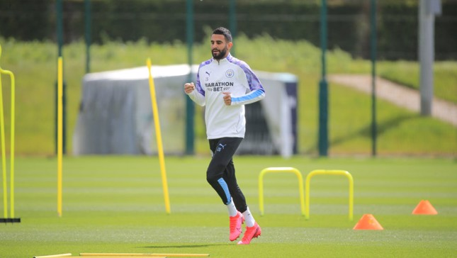 Mahrez excited by return to action