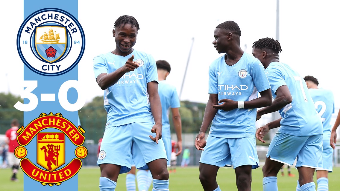 Cuplikan Pertandingan: City U18 3-0 Man United