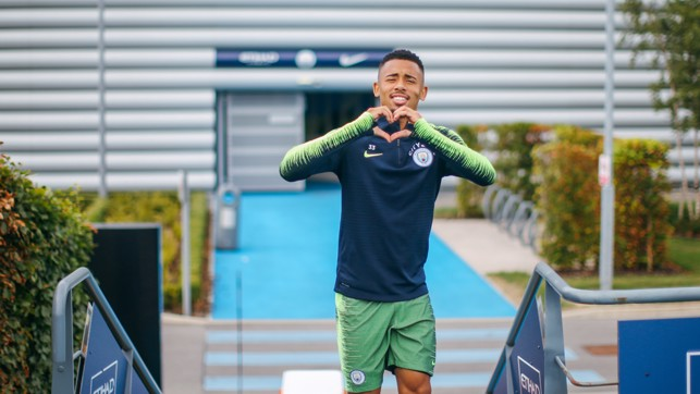 HEART OF THE CITY : Gabriel Jesus is loving being back