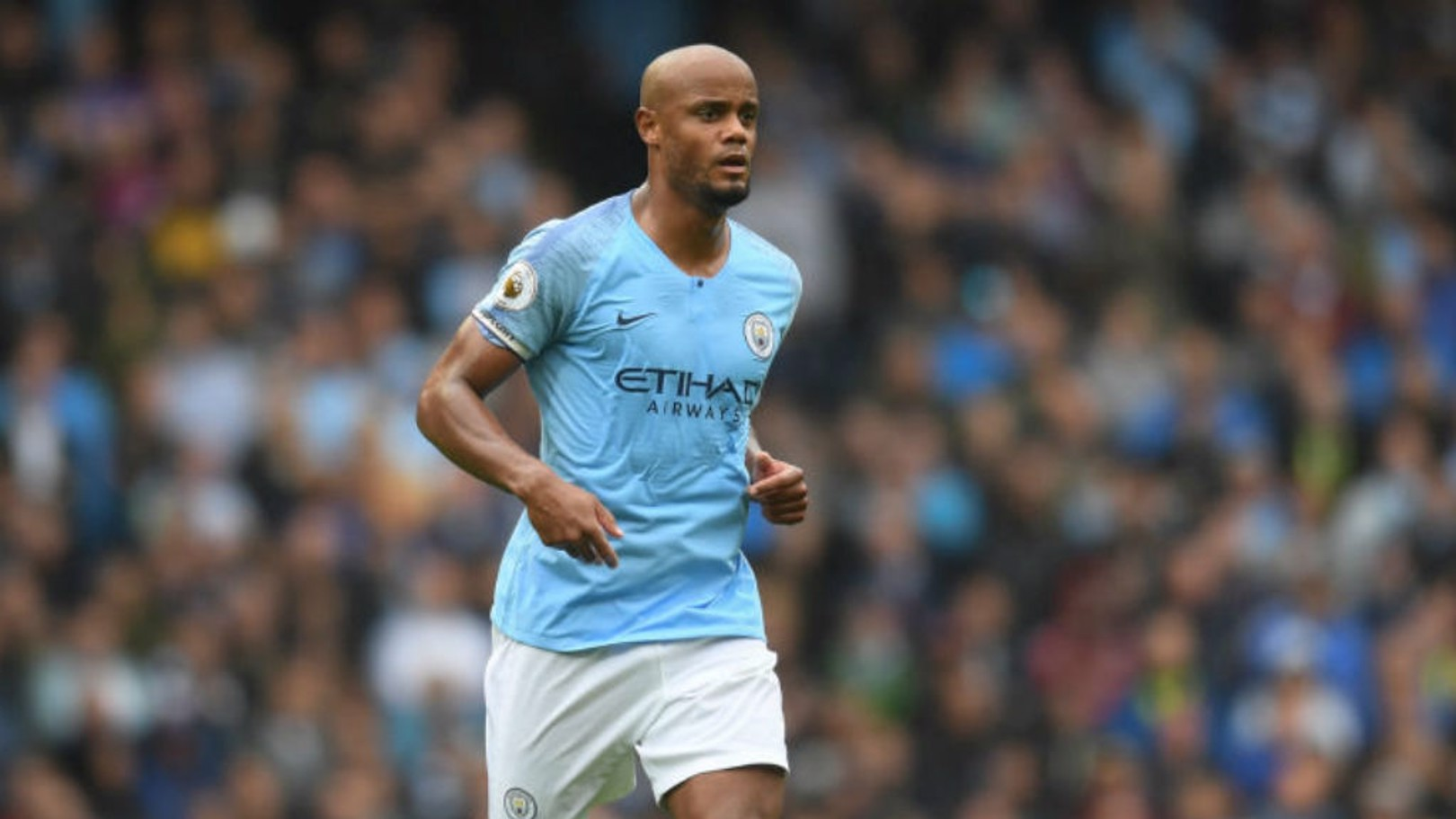PERFECT 10: Vincent Kompany has chalked up a magnificent decade with Manchester City