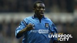 SHAUNY WRIGHT WRIGHT WRIGHT!: The City hero played a key role the last time we won at Anfield...