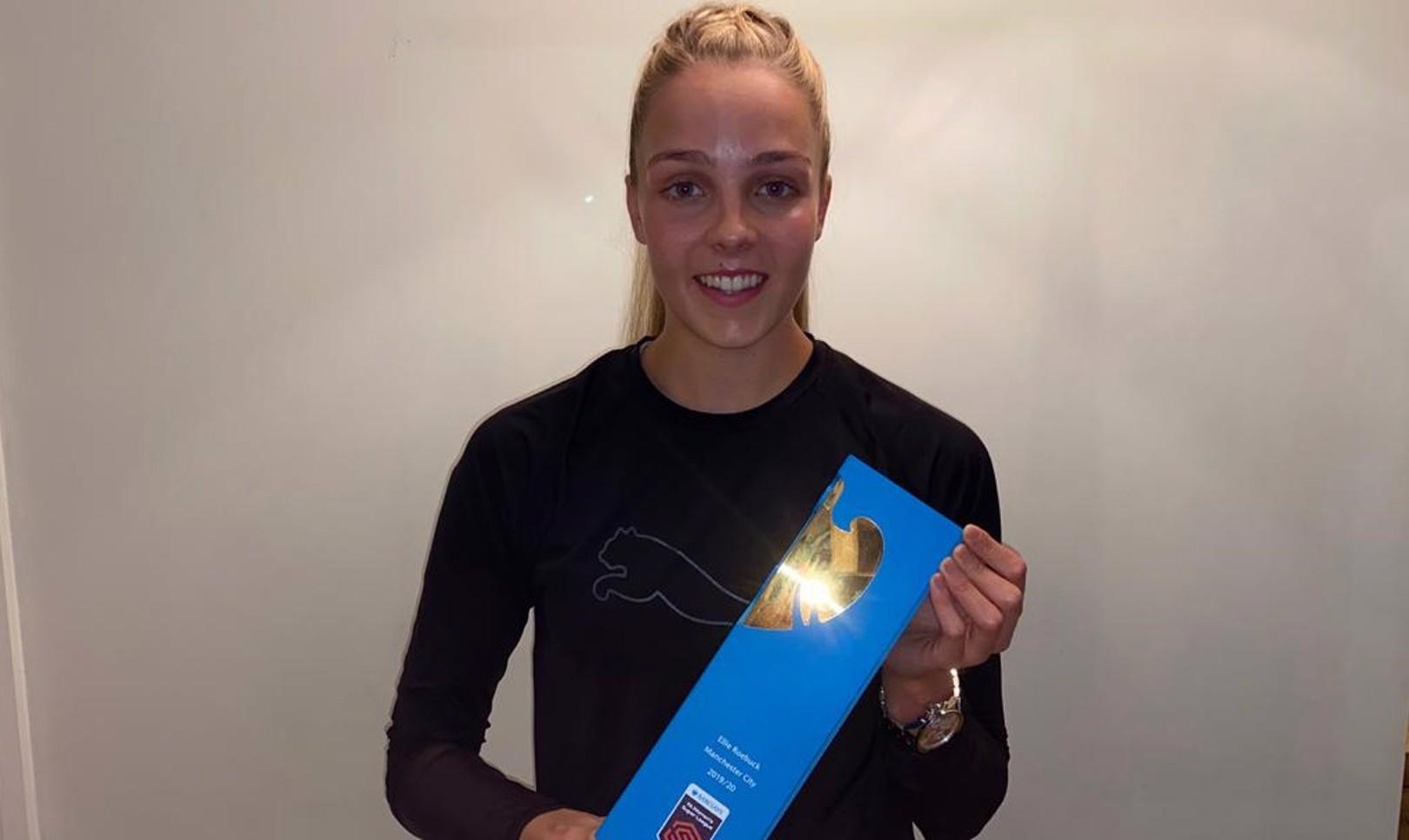 Ellie Roebuck bags FAWSL Golden Glove award