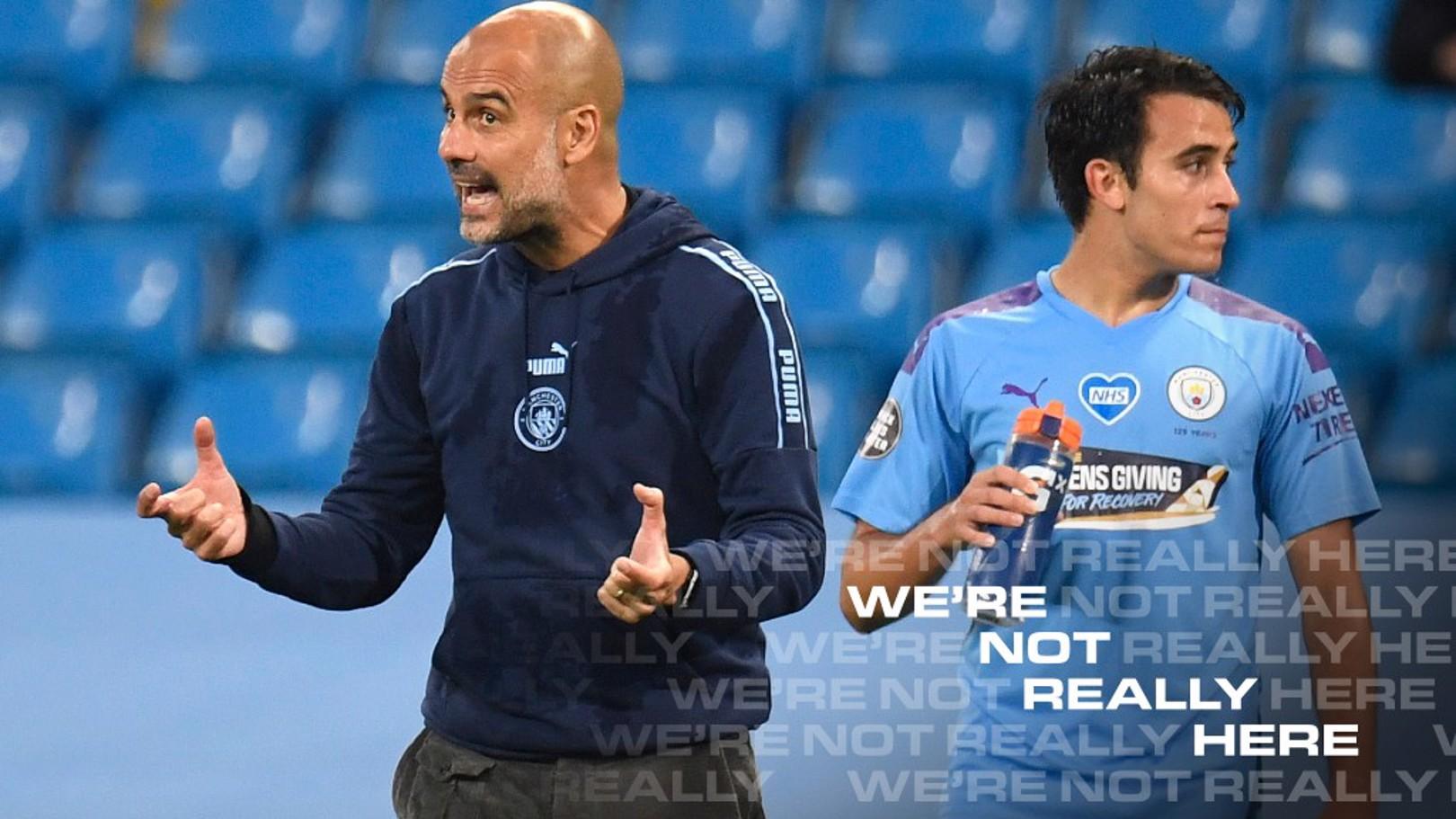 Pep Guardiola atualiza estado de Eric Garcia