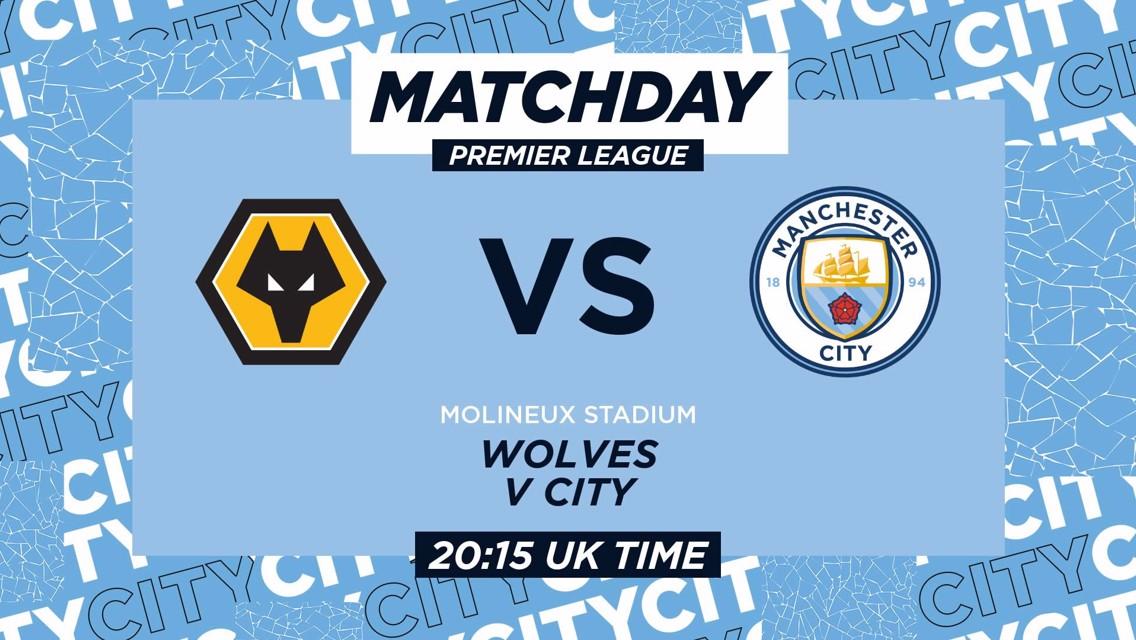 Wolves v Manchester City: Matchday live
