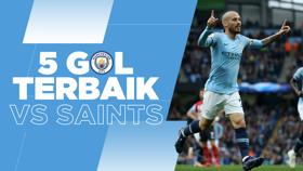 5 Gol Terbaik: Serangan Tajam Menjamu the Saints