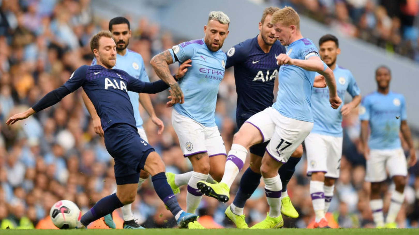 City v Tottenham: All the key stats