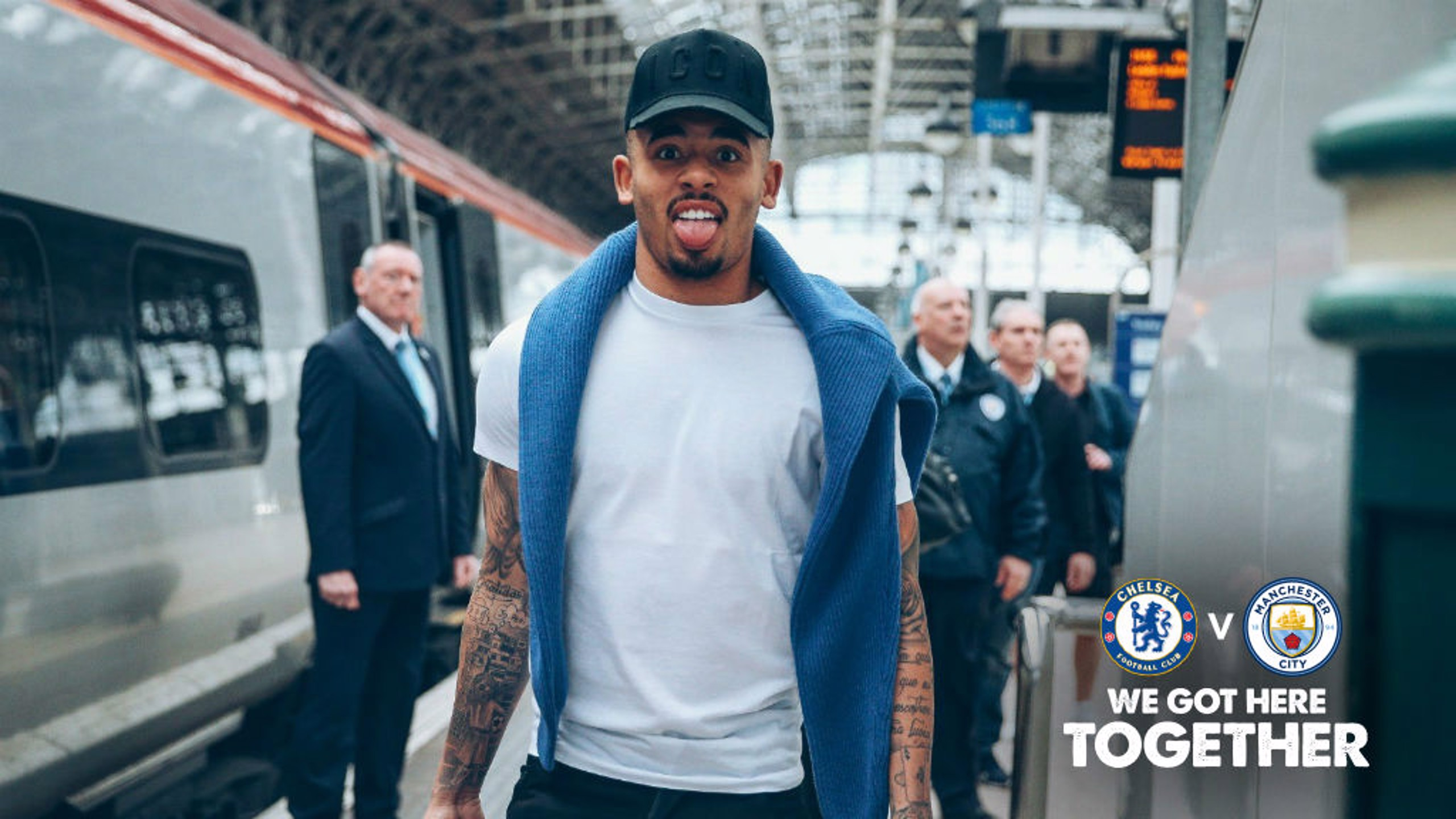 Travel gallery: The Blues head to Wembley