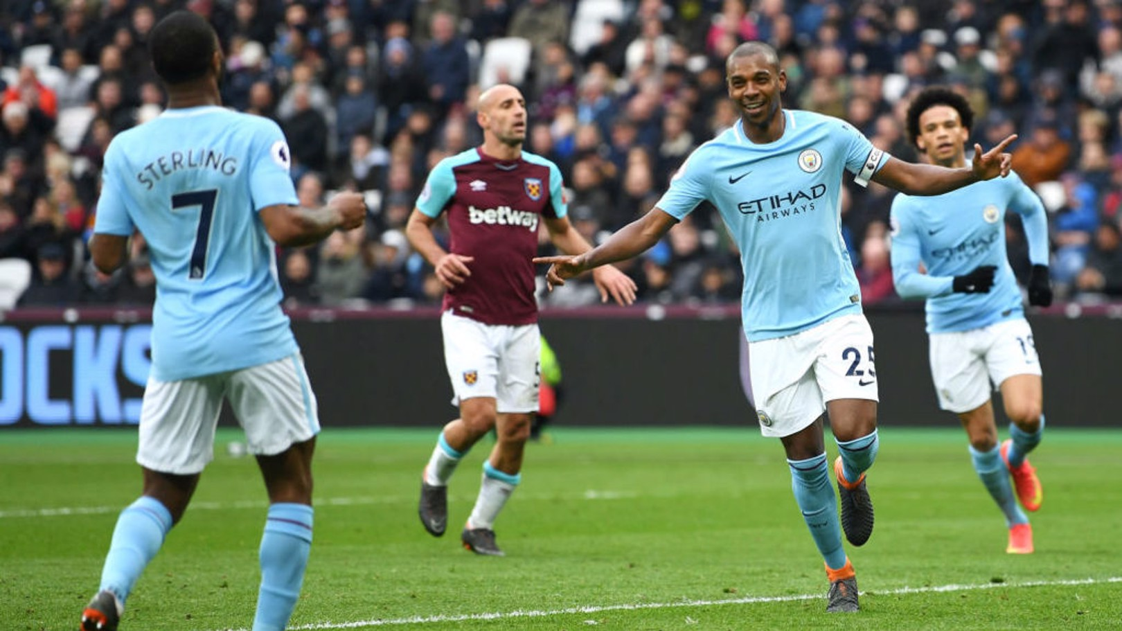 JUST CAPITAL: City ran out convincing 4-1 winners on our last appearance at the London Stadium in April this year