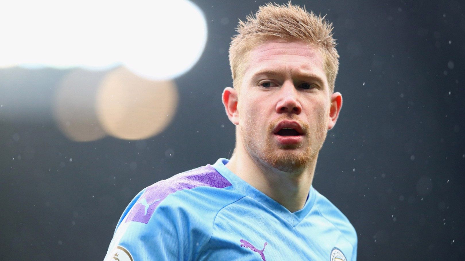 BELGIAN BLUE: Kevin De Bruyne in focus