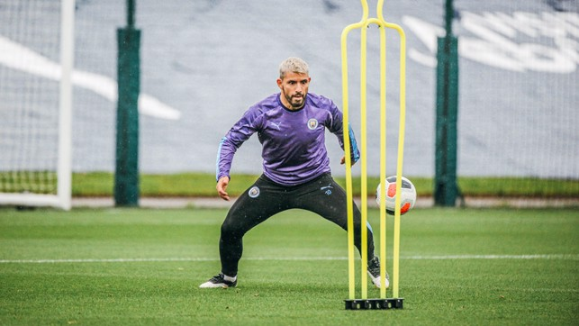 TARGET MAN : Sergio Aguero looks primed for action!