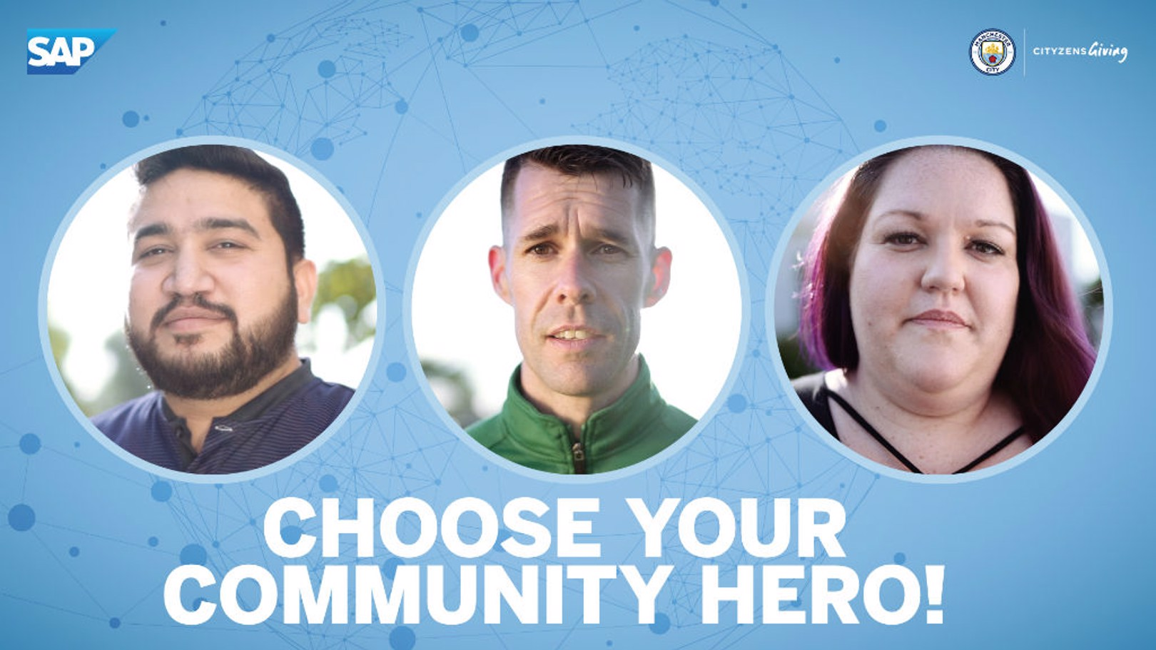 Choose your SAP Manchester City Community Hero!