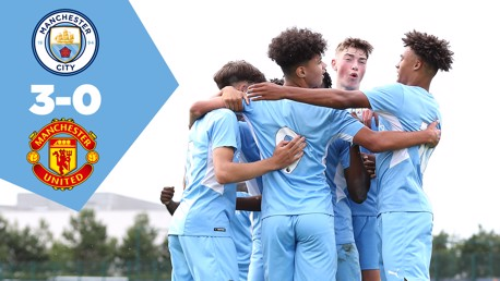 Full-match replay: City U18s 3-0 Manchester United