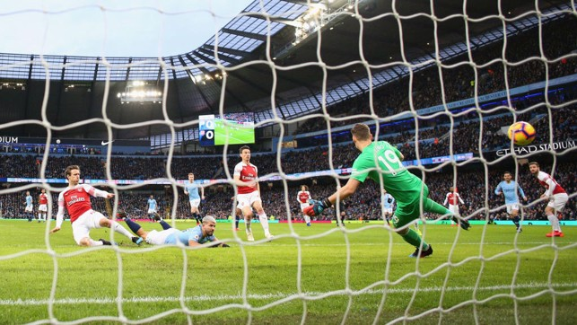 DIVING HEADER : Early breakthrough for City and Sergio Aguero.