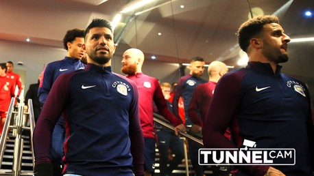 TUNNEL CAM: Go behind-the-scenes at City's 3-1 win over Watford