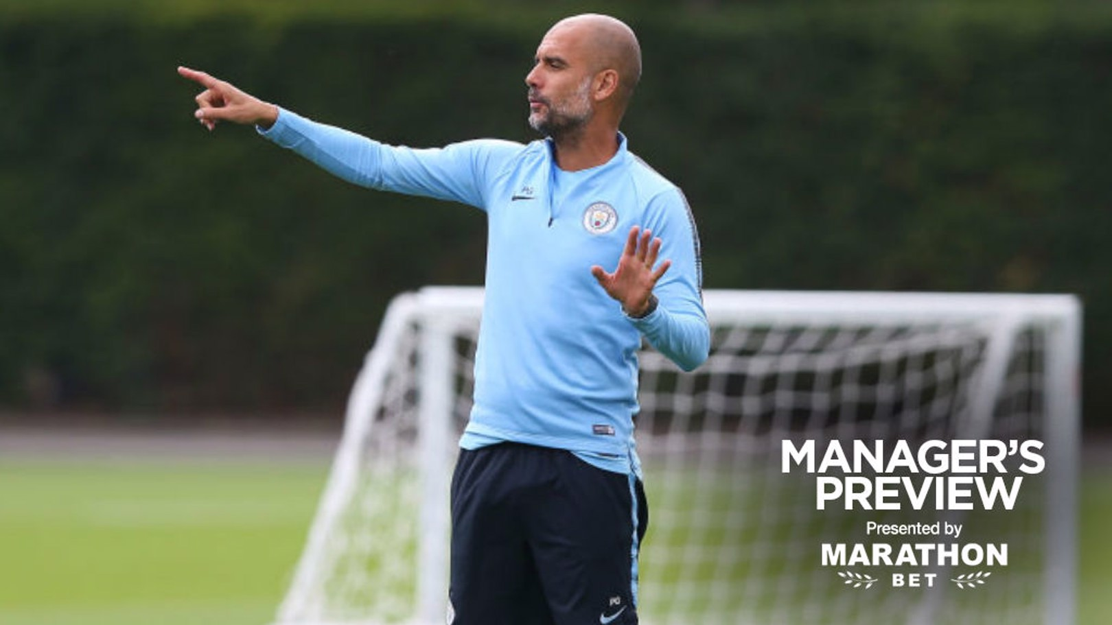 WEMBLEY DATE: Pep Guardiola is preparing for Sunday's Community Shield clash with Chelsea