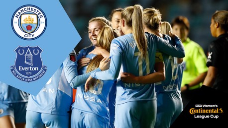 City v Everton: Continental Cup full-match replay