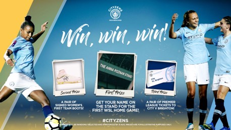 COMPETITION: Our new prize draw for City women's team seasoncard holders.