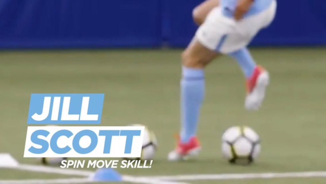 Daily challenges: Jill Scott Spin Move Skill!