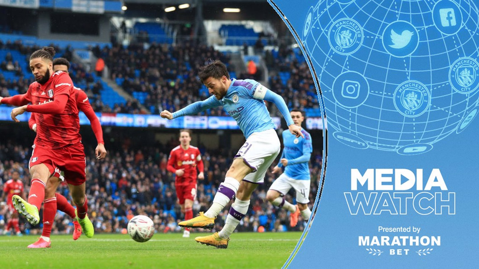 MEDIA WATCH: David Silva was praised for his performance against Fulham.