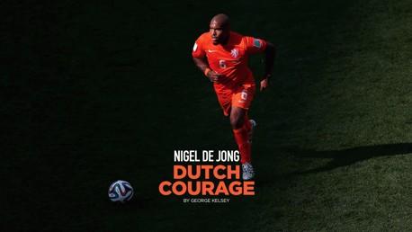 Nigel De Jong: Dutch Courage