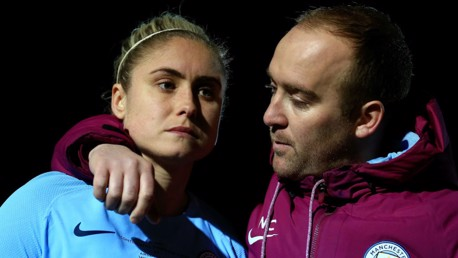TRIBUTE: Steph Houghton has spoken in glowing terms about the impact of Nick Cushing