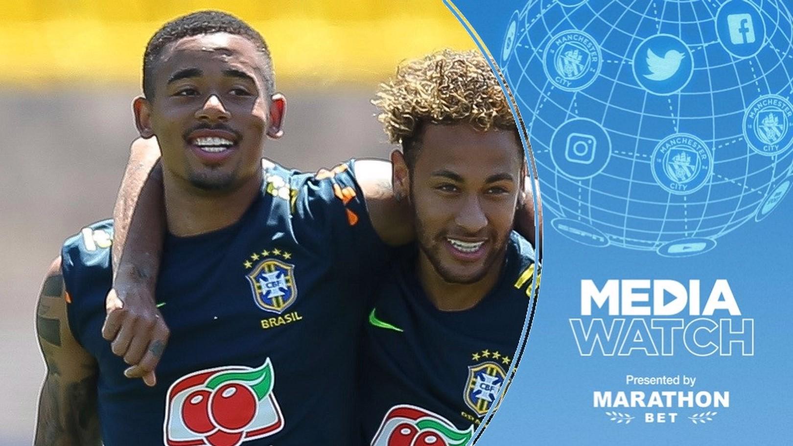 Jesus wants to follow in Neymar's footsteps