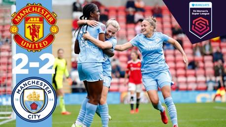 Cuplikan FA WSL: Man United 2-2 City