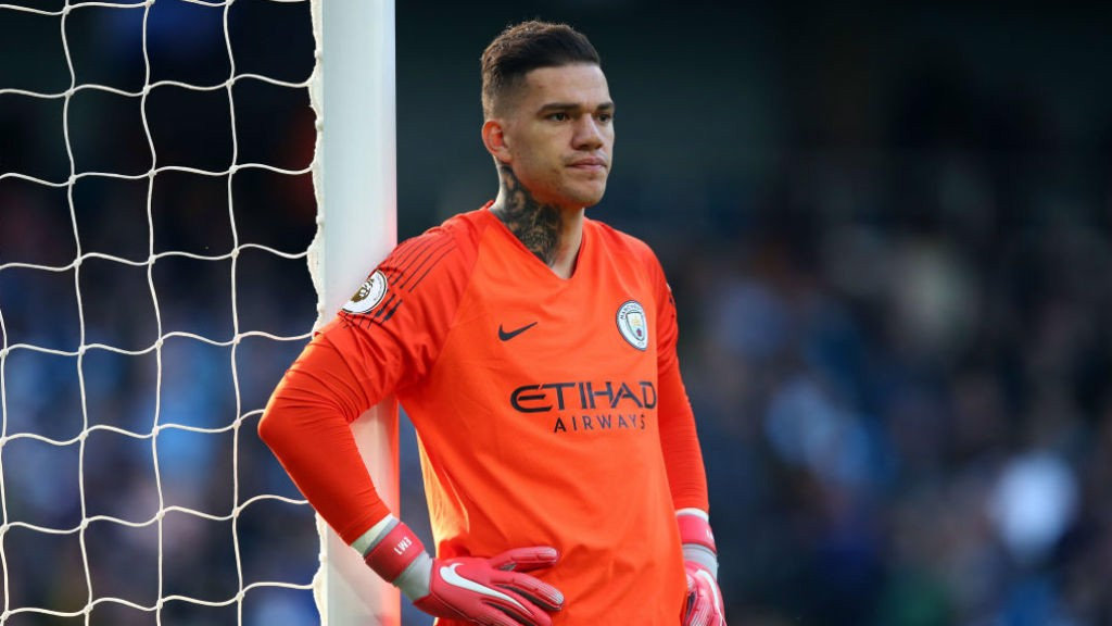 CLEAN MACHINE : Ederson looking for first Golden Glove award