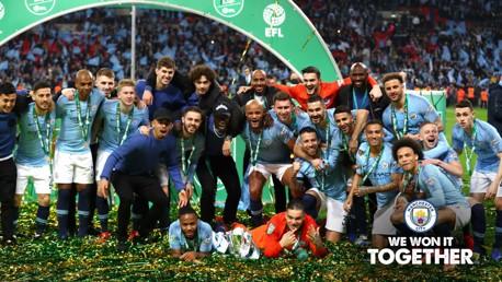 2018/19 Carabao Cup winners!