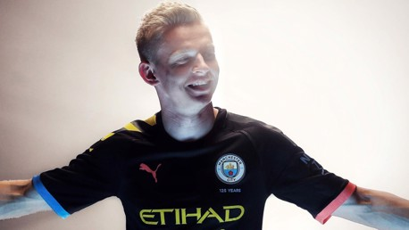 CHANGE: Oleksandr Zinchenko will wear a new squad number in 2019/20.