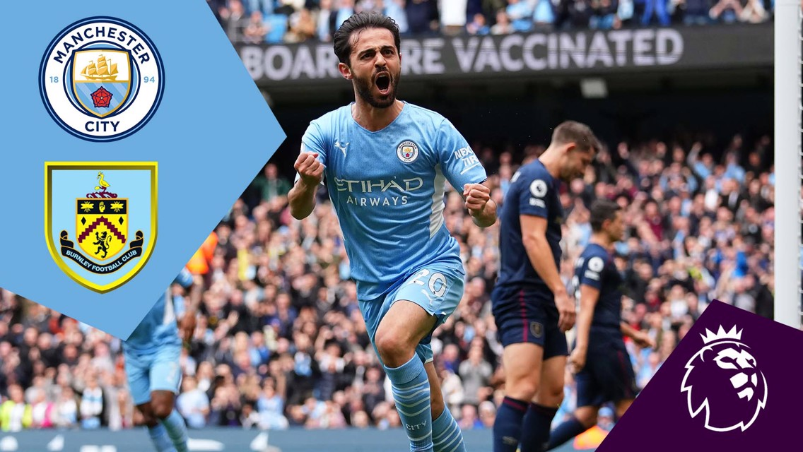City v Burnley: Full Match Replay