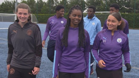 Kicks and Inspires Volunteers Represent CITC at Premier League Youth Summit