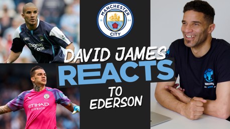 David James reacts to Ederson's City highlights