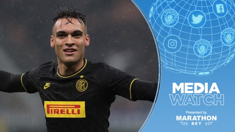 'AGUERO'S WORTHY HEIR': City have been linked with Lautaro Martinez