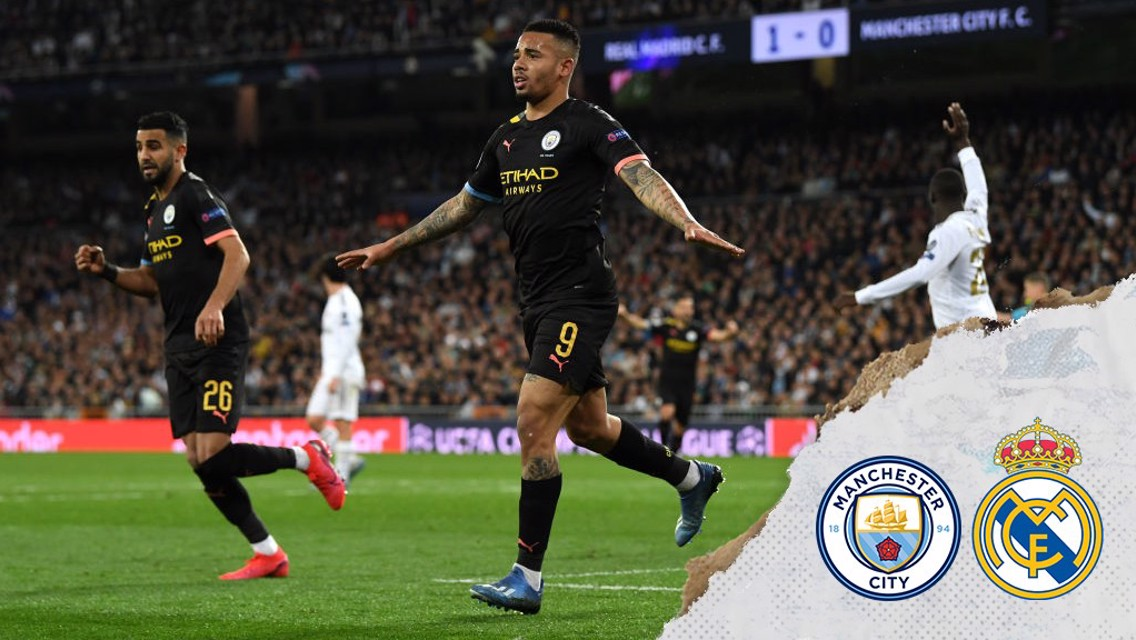 Gabriel Jesus: Bernabeu win one of City's best