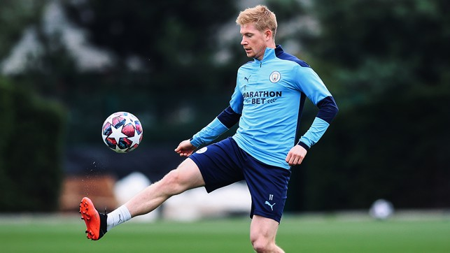 BELGIAN BRILLIANCE : Kevin De Bruyne shows off his silky skills