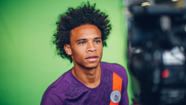 A STUDY IN FOCUS : Leroy Sane sports City's new third strip