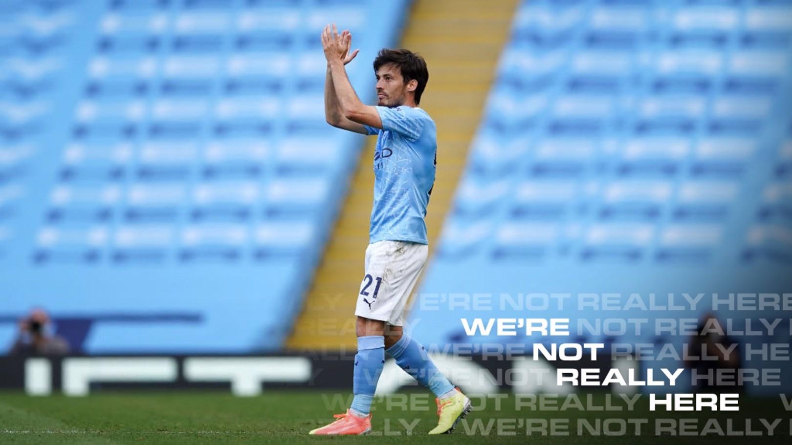 David Silva shares pride at City career