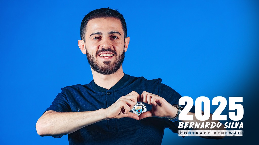 Bernardo Silva extends City contract