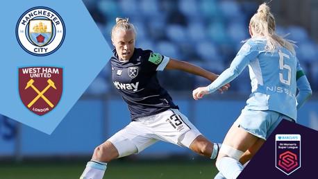City v West Ham: Full Match Replay