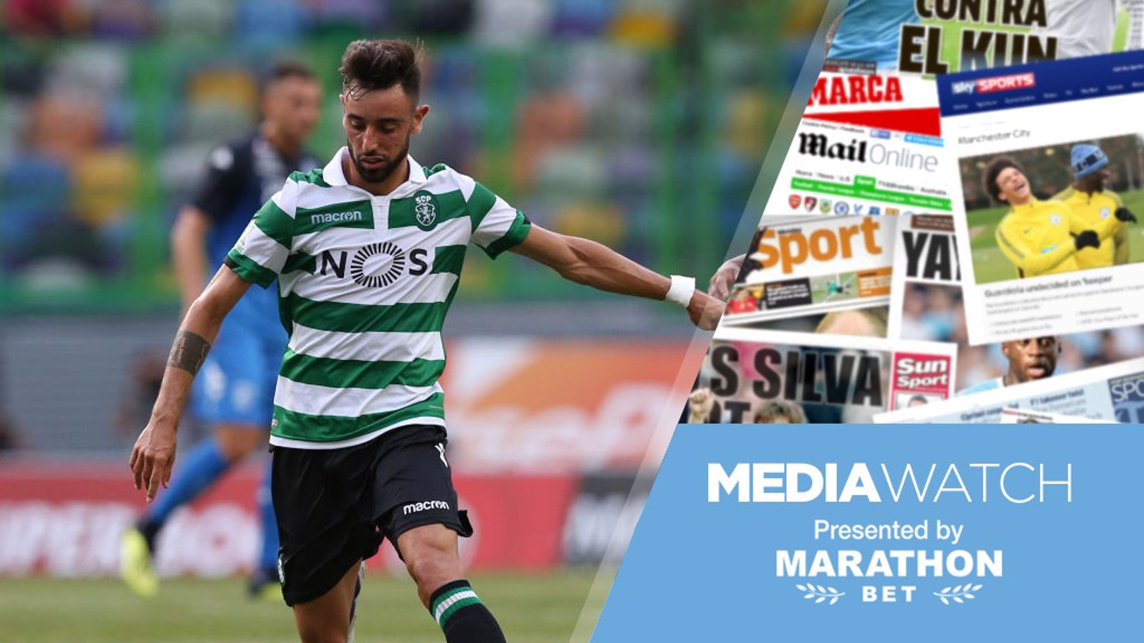 CHANGE OF PLAN: Reports claim City have no interest in Bruno Fernandes.