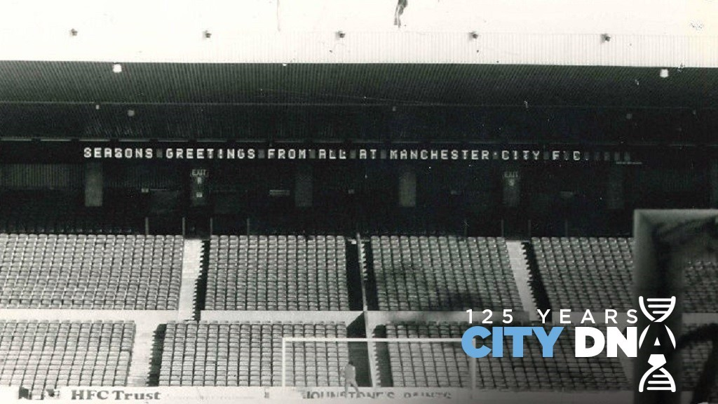 NORTH  STAND : In its heyday