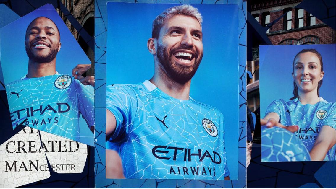 Jersey Kandang Puma City Terbaru Terinspirasi Mosaik Manchester