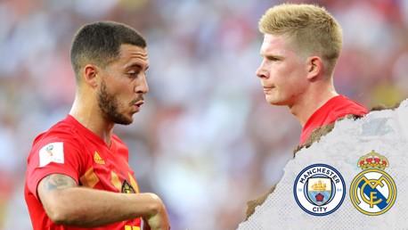 De Bruyne v Hazard: Pertarungan Bintang Belgia