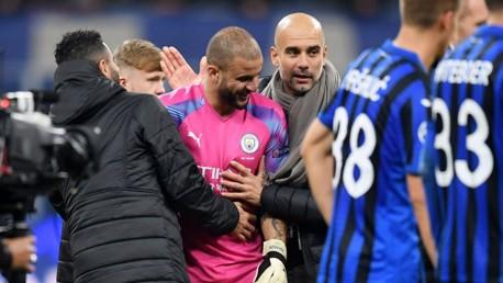 Guardiola praises Walker's courage