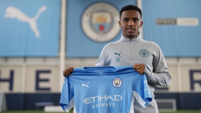 Kayky begins training with Manchester City