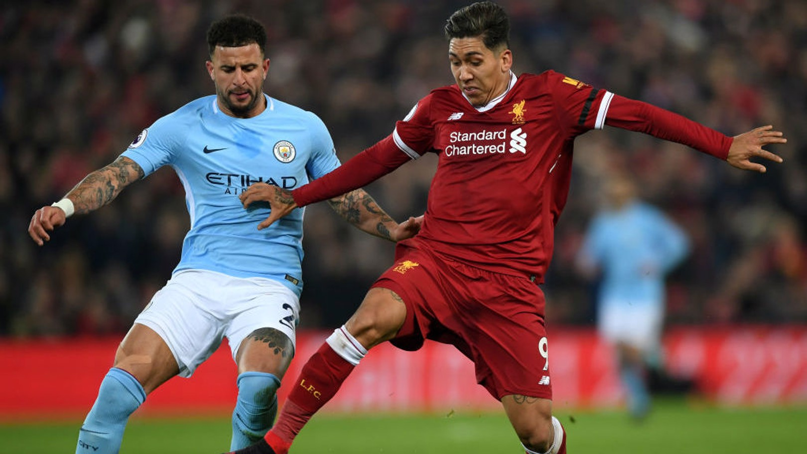 Liverpool vs. City: Duelos-chave