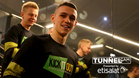 TUNNEL CAM: A behind-the-scenes look at Wednesday's 2-0 win over Cardiff