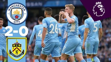 City 2-0 Burnley: Melhores Momentos